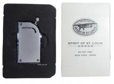 Spirit of St. Louis Feuerzeug Piezo chrom silberfarben
