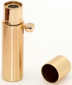 Myon Paris Havanna Zigarren Feuerzeug Messing satiniert