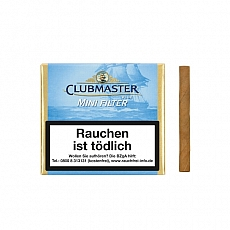 Clubmaster Mini Filter Blue Gold Filter