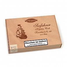 Seefahrer Kapitän Cook No.60 Sumatra 25 Zigarren 100% Tabak