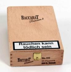 Baccarat Premium No.2 Sumatra 100% Tabak 20er Kiste