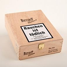Baccarat Premium No.6 Sumatra 100% Tabak 20er Kiste