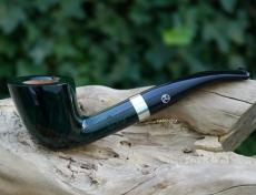 Pfeife Rattrays Lowland grün 67 mit Acrylmundstück 9 mm