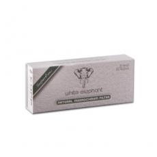 Meerschaumfilter White Elephant Natur 20 Stück 9mm