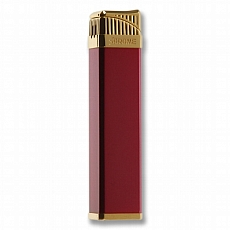 Sarome Feuerzeug SK164-04 red satin gold