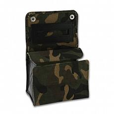 Stellbeutel Canvas Camouflage Kautschukfutter Military-Look