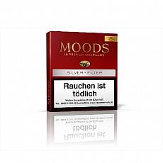 Dannemann Moods Silver Filter 18er