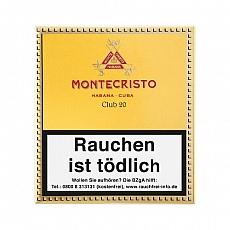 Montecristo Club 20er Faltschachtel