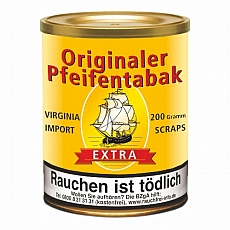 Orginal Pfeifentabak (Aromatischer Virginia Import Scraps) 200g