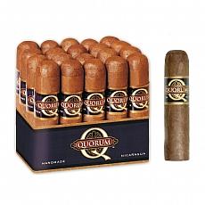 QUORUM Classic Short Robusto 10 Zigarren Nicaragua