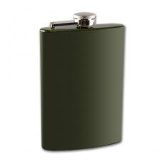 Flachmann Taschenflasche dunkelgrün 8 oZ 240 ml