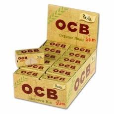 OCB Organic Hemp Rolls Rollenpapier 24er Packung