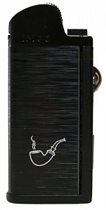 IMCO Chic 4 Pipe Flint black Pfeifenfeuerzeug mit Raucherbesteck