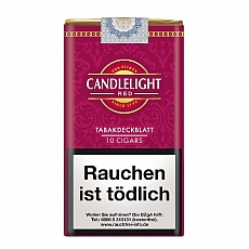 Candlelight 100% Wrapper Cigars Cherry 10 Stück