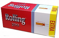 Rolling Extra Zigarettenhülsen Sparpackung mit 300 Stück