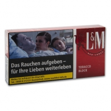 L&M Tobacco Block Red Label 42g
