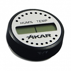 Hygrometer Xikar digital 4.5cm Durchmesser 1.5cm