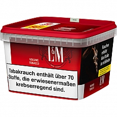 L&M Red Label Premium Tobacco Giga Eimer 185g