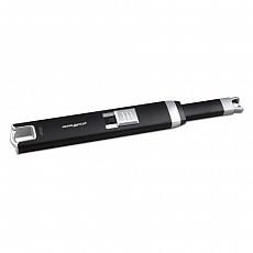 Stabfeuerzeug Batterie Finsbury Lichtbogen schwarz