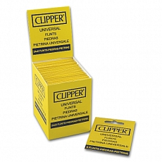 Clipper Feuerzeugsteine Flints Karte mit 9 Stück