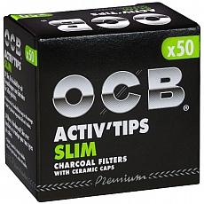 OCB Activ Tips Slim 7mm 50 Stück