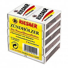Riesaer Zündhölzer 10 x 38St.