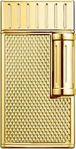Cigarrenfeuerzeug COLIBRI Julius gold Schrägflamme 2er Jet