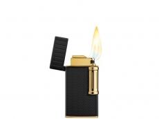 Cigarrenfeuerzeug COLIBRI Julius gun Schrägflamme 2er Jet