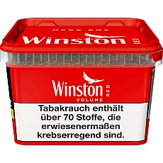 Winston Volume Tobacco Classic Mega Box 210g Eimer