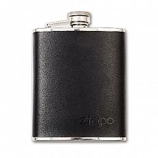 Taschenflasche Zippo Leder Mocha 177ml