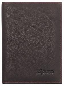 Kreditkartenetui Zippo Leder Mocha für 13 Karten 10x14x1cm