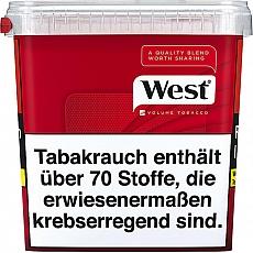 West Red Volume Tobacco 315g Eimer