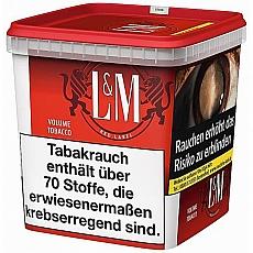 L&M Red Label Premium Tobacco Superbox 315g Eimer