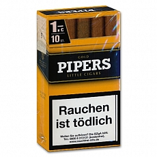 Pipers Little Cigars Vanilla Gold