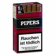 Pipers Little Cigars Cherry Red