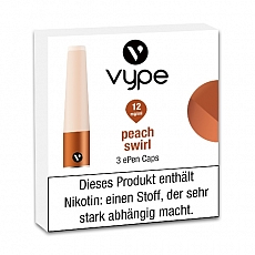 E-Kartusche VYPE ePen Caps Peach Swirl 12mg
