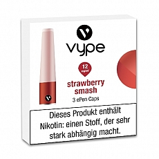 E-Kartusche VYPE ePen Caps Strawberry Smash 12mg