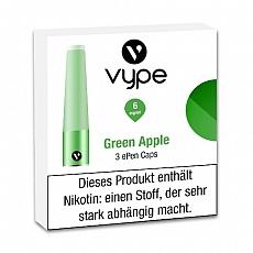 E-Kartusche VYPE ePen Caps Green Apple 6mg