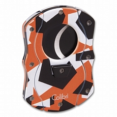 Cigarrenabschneider COLIBRI Cut Camo orange camouflage 25mm