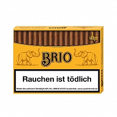 Brio Naturdeckblatt Zigarillos 50 Stück