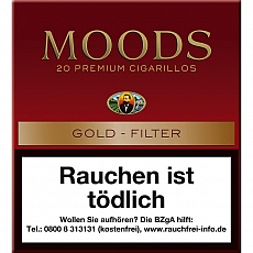Dannemann Moods Golden Taste 20er