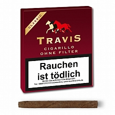 Travis Filter Cigarillo ohne Filter (Aromatic) 20 Stück